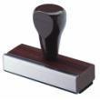 RS01-5 - Wood Handled Stamp RS01-5